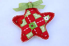 Easy Homemade Christmas Ornaments by Making Christmas Ornaments With Felt At Home