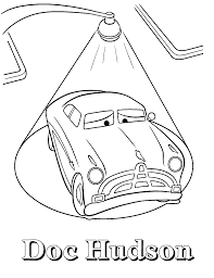 doc hudson coloring pages eson me