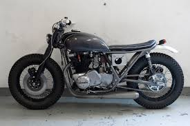 kawasaki kz750 twin brat bike u0027s pinterest flat tracker