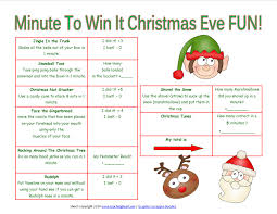 christmas minute to win it christmas cliffhanger pictures to pin