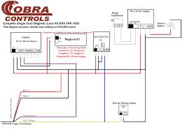 cobra controls acp for door access control system wiring diagram