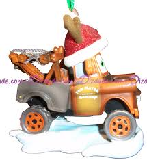 dizdude disney pixar cars mater ornament