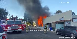 A 2 15 Alarm 2 by Arrival Video 2 Alarm Commercial Building Fire In Victorville Ca