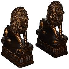 marble lion bookends best in decorative bookends helpful customer reviews