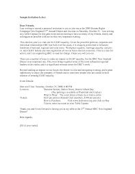 invitation letter format for visa application free printable