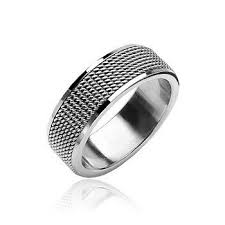 5th avenue wedding band fifth avenue finely crafted stainless steel comfort fit ring
