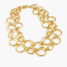 gold link necklace images Gold link necklace women necklaces j crew