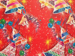 Retro Paper Christmas Decorations - 637 best vintage christmas wrapping paper images on pinterest