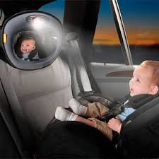 baby car mirror with light baby car mirrors the best way to view your baby in the backseat