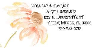Tallahassee Flower Shops - england u0027s florist u0026 gift baskets llc home facebook