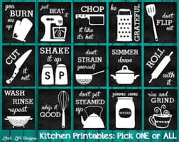 Retro Chalkboards For Kitchen by Kitchen Chalkboard Etsy