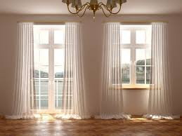 Dining Room Window Treatments Ideas Home Office Window Treatment Ideas For French Doors Window French