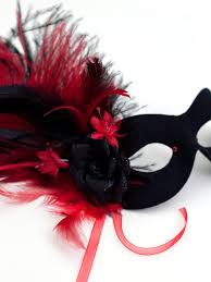 masquerade mask for women women s floral black feather masquerade mask