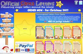 santa letter 2017 order yours gift items