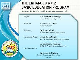 enhanced k 12 program presentation by edgar garcia issuu