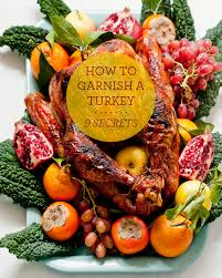 9 secrets to garnishing a turkey platter design