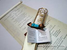 Scroll Invitation Rods Handcrafted Metal Wire Invitation Scroll Holder By Tiffany