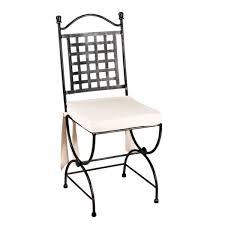 chaises en fer forg chaise en fer forge de jardin wasuk
