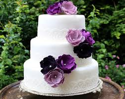 Wedding Cake Flowers Wedding Cake Toppers Etsy Se