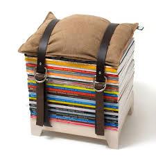 hockenheimer magazine storage stool u2013 crowdyhouse