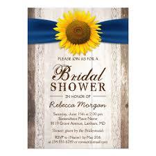 sunflower ribbon beautiful rustic sunflower ribbon bridal shower card zazzle