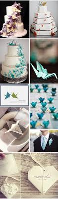Origami Wedding Cake - 45 origami wedding ideas hi miss puff