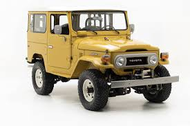 military land cruiser toyota fj land cruiser vintage prices refurbished models