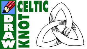 how to draw a celtic knot easy
