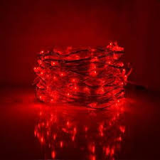 copper wire led lights led fairy lights 33 foot 100 micro led lights red on copper wire
