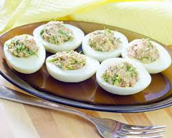 cuisiner oeuf recette œufs durs farcis thon mayo