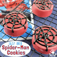 fun oreo spider man cookies kids craft room