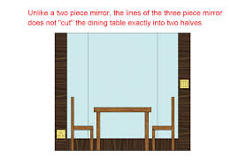mirror facing dinning table feng shui tips u0026 guidelines