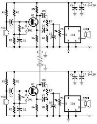 wireless intercom circuit diagram pdf circuit and schematics diagram