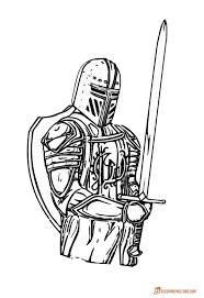 55 best knight coloring pages images on pinterest knight