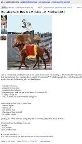 Flag Craigslist Post Guy Seeking Wedding Date Posts Ad On Craigslist Someecards