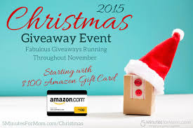 christmas giveaway event 2015 starts with 100 amazon gift card