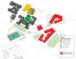 Penn State Campuses Map by Campus Map Wentworth Institute Of Technology Our Campus