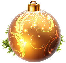 yellow christmas ball png clipart image natal pinterest