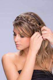 hair styles in two ponies beauty photos side pony with braid step 2 inside weddings
