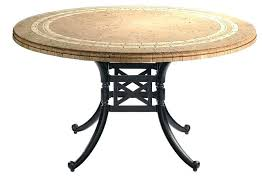 patio table top replacement idea round patio table top round top slate outdoor stone patio dining