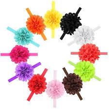 flower bow naturalwell small girl chiffon flower headband accessories newborn