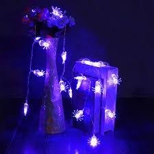 20 blue led spider light halloween party decration lights at banggood