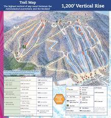 Green Circle Trail Map Trail Map Bristol Mountain Resort