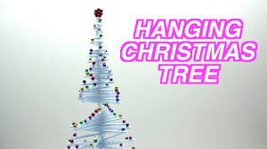 how to reuse drinking straws and make a hanging christmas tree