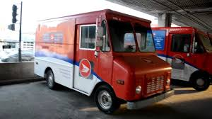 postal vehicles canada post grumman step vans under highway metropolitan youtube