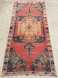 Livingroom Carpet 8 7x4 Feet 264x121 Cm Handmade Carpet Vintage Carpet Rug