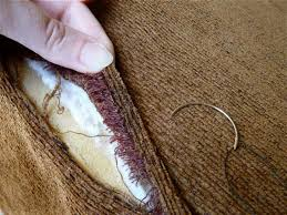 How To Repair A Leather Sofa Tear 106 Best Mending Images On Pinterest Sewing Ideas Sewing