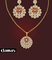 d damas gold earrings damas 2017 jewellery collection for women