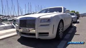 rolls royce ghost mansory ultra rare rolls royce mansory white ghost limited 1 of 3 in