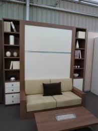 armoire lit canapé escamotable lit armoire canapé avec couchage 140 ou 160 lit squadra